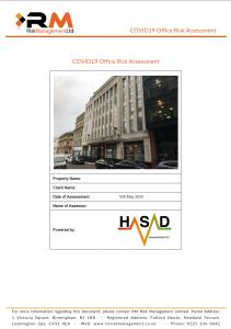 COVID-19 Risk Assessment Service